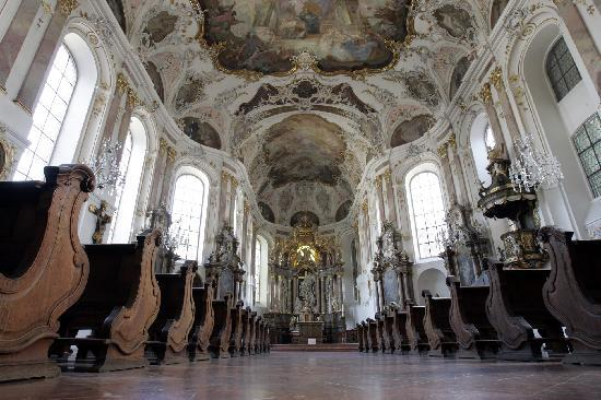 Walking Mainz: Inside St. Augustines Church