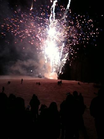 Sugarbush Mountain Ski Resort: fireworks