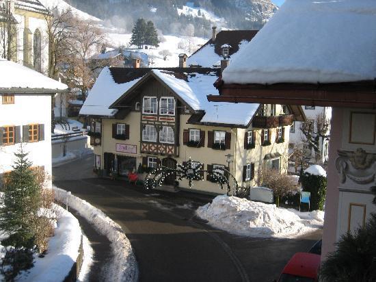 Bad Hindelang, Germany: Blick vom Balkon
