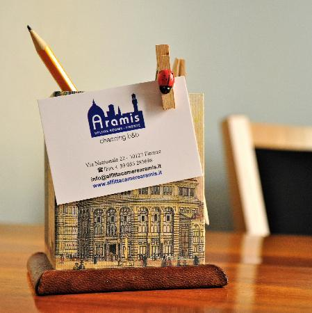 Aramis Rooms: logo