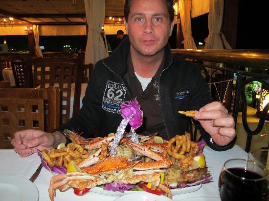 Fairuz : The best seafood platter ever!