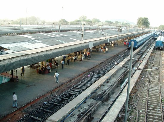 India: Jhansi railway station