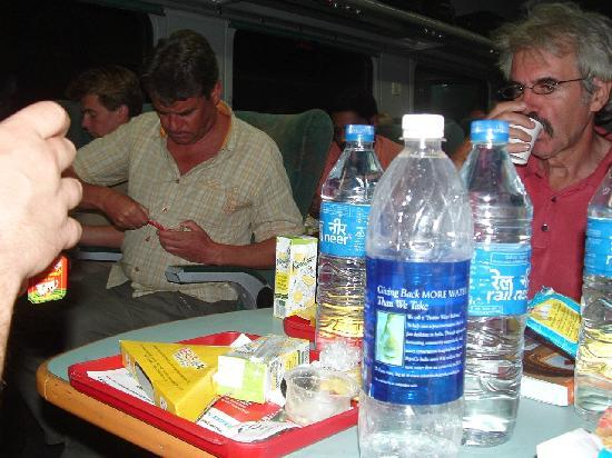 Shatabdi Express: Refreshments on board