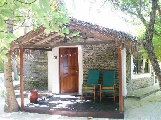 Gasfinolhu Island Resort : entrata casa