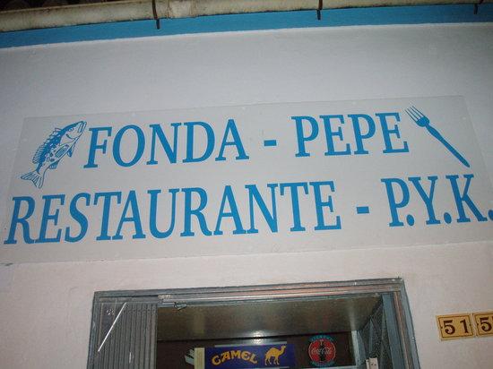 Fonda Pepe: entrata ristorante