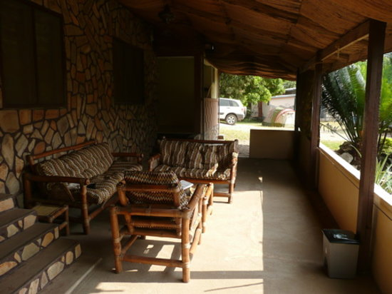 Biakpa Mountain Paradise: One of the porch sitting areas.
