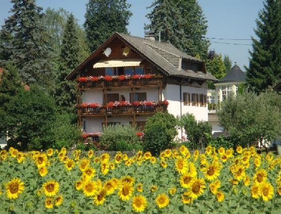 Komfort Ferienwohnungen Reichmann: Haus von Süden - vom See her gesehen