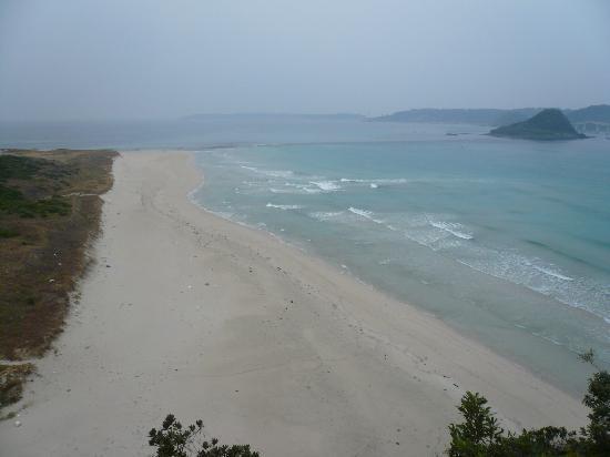 Shimonoseki, Japan: 砂浜