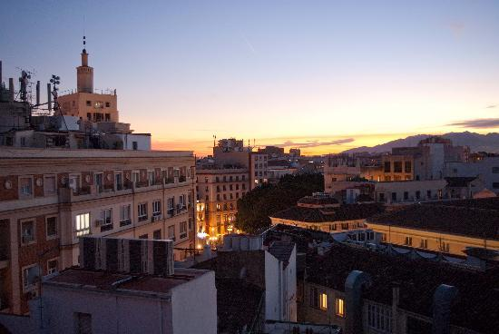 Don Curro Hotel: Dusk from terrace