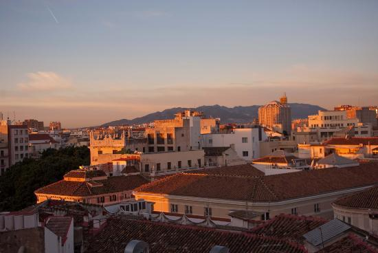 Don Curro Hotel: Dawn from terrace