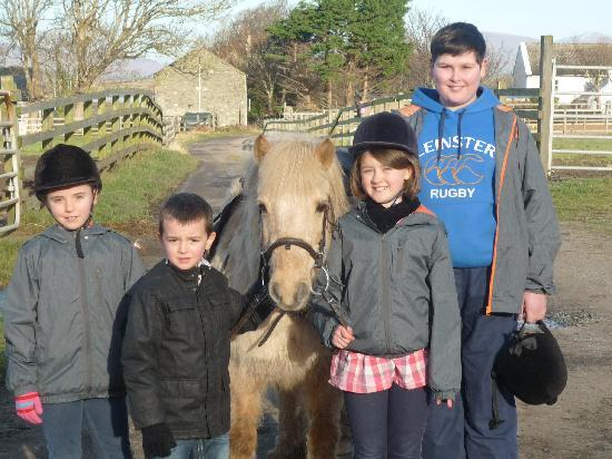 Croagh Patrick Stables : SATISFIED CUSTOMERS!!