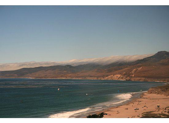 Coast Starlight: This is near Santa Barbara