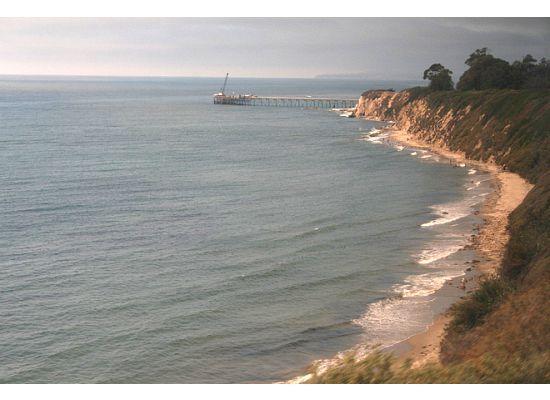 Coast Starlight: Literally on a cliff
