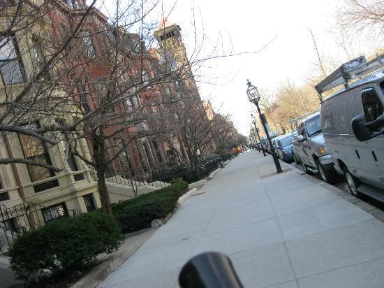 The College Club of Boston: The neighborhood