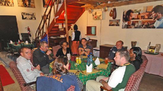 Nanyuki Town, เคนยา: Restaurant