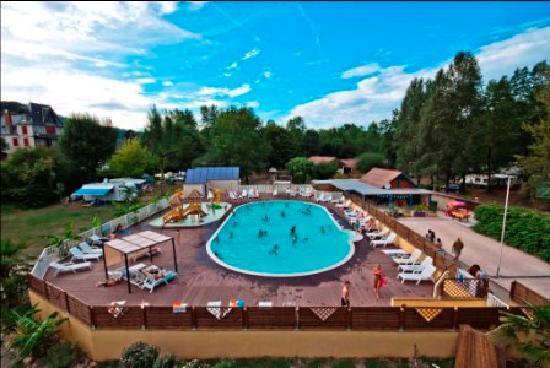Beaulieu-sur-Dordogne, Francia: L'espace aquatique chauffé