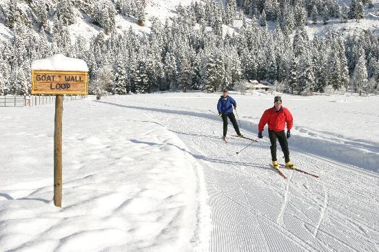 Mazama Country Inn: Skiing in Mazama