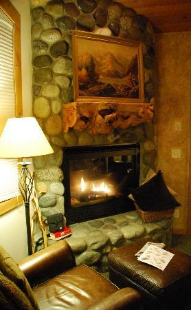 Run of the River: Enchantments fireplace