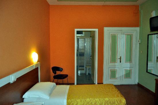 Hotel Eden: vista de la habitacion