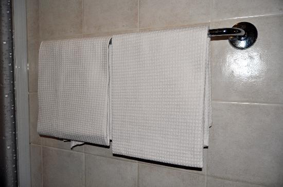 Hotel Eden: cambio diario de todas las toallas