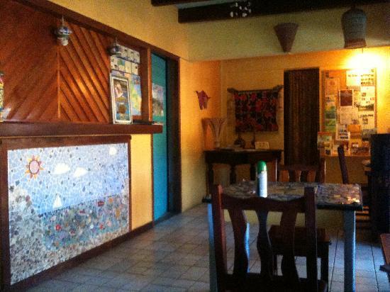 Hotel Guarana: reception area