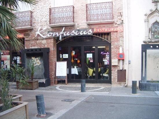 Konfusius: entrada restaurante