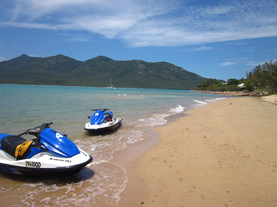 Ecojet Ski Safari Tours: lunch spot