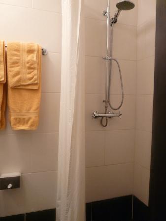 Hotel Aviv Dresden: The shower