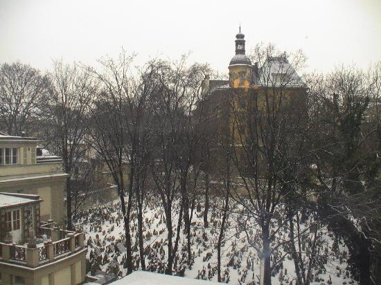 Residence Brehova - Prague City Apartments: View from our bedroom window