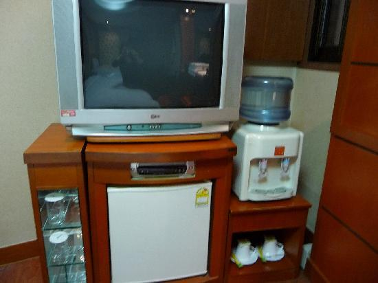 Hotel Princess: テレビ・冷蔵庫・浄水タンク