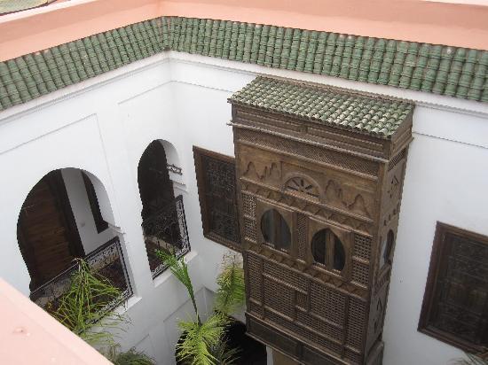 Riad Nerja: Blick in den Riad