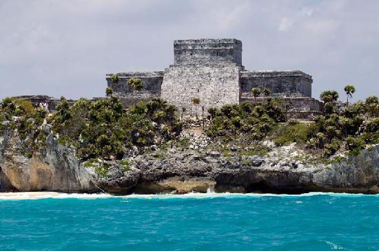 Cozumel Choice: Tulum from the sea