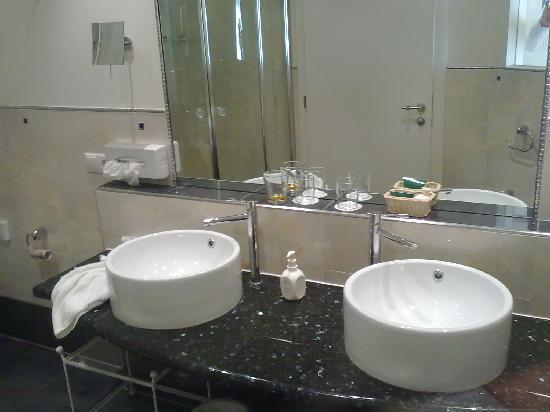 Hotel Dorner: bagno