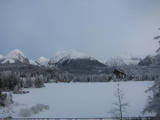 Štrbské Pleso, Slovensko: Beautiful View from room Balcony