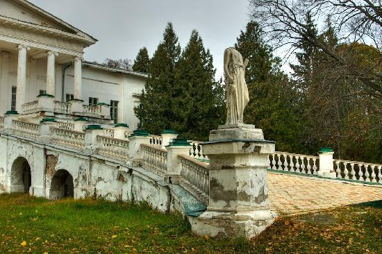 Ukraine: Sokyryntsi: Galagan mansion