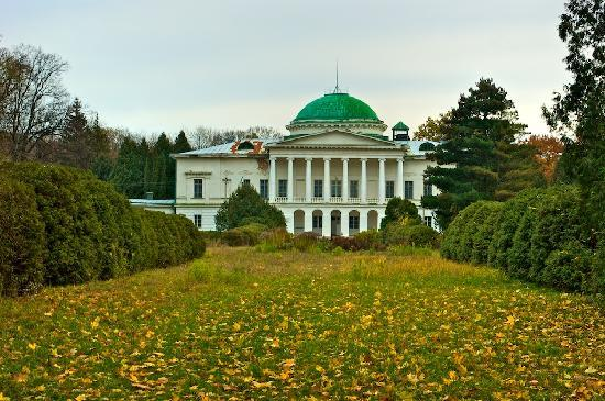 Ukraina: Sokyryntsi: Galagan mansion