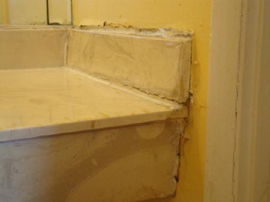 Village Inn: Bathroom sink pic #2.