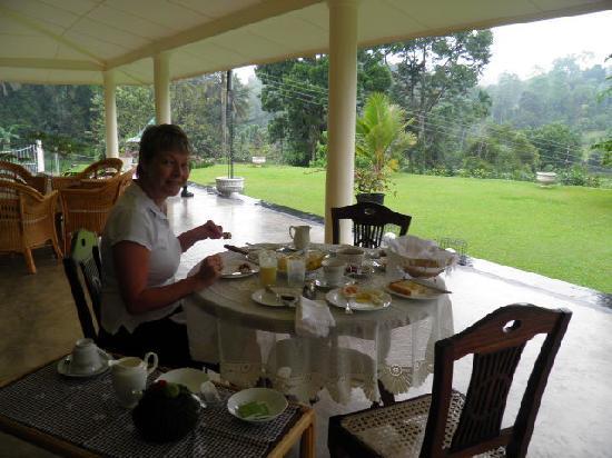 Bougan Villa Guest House: Breakfast feast