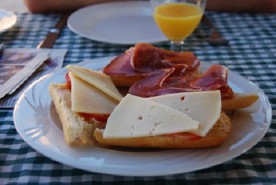 Son Guardiola Finca: Frühstück Beispiel