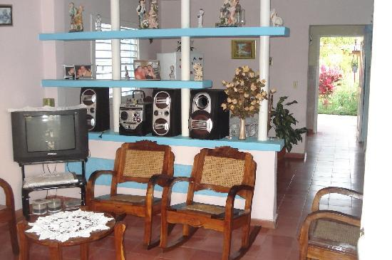 Casa Tamargo - le séjour