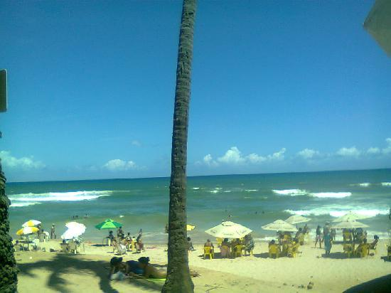 Pousada Praia do Flamengo Salvador da Bahia : a praia como esta agora