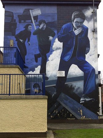 Mural, Bogside Derry