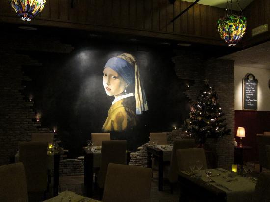 Hotel Johannes Vermeer: Comedor