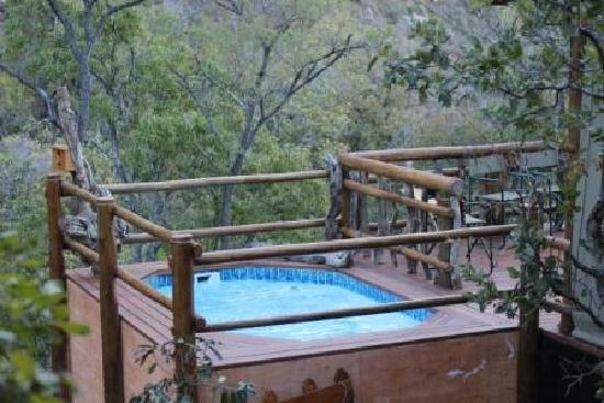 Lydenburg, South Africa: Jacuzzi at the BLC