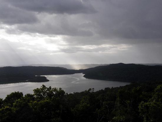 Ecolodge El Sombrero: lagune de Yaxha