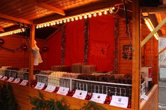 Christmas Market (Christkindelsmarik): チョコレートのお菓子屋さん