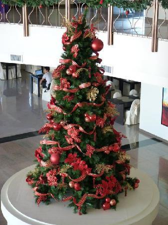 The Pinnacle Hotel and Suites: xmas tree