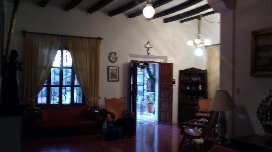 Hostal Villa San Francisco: Main Lobby