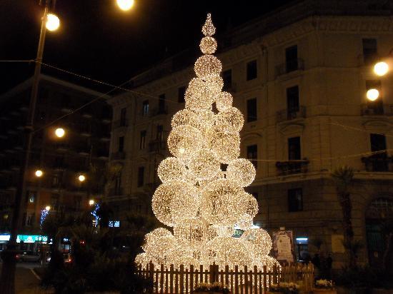 Salerno, Italy: luci d'artista