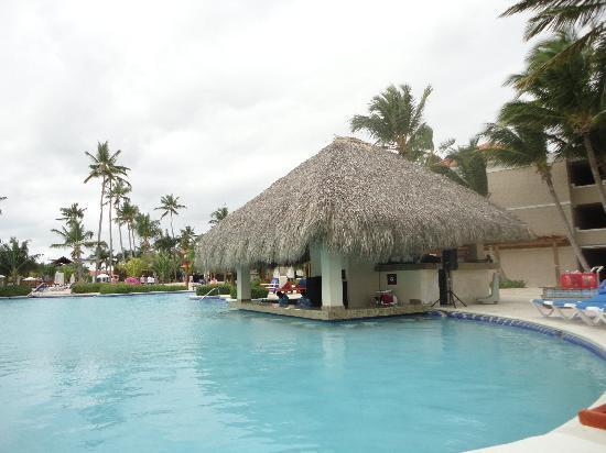 Dreams Palm Beach Punta Cana: piscina con bar